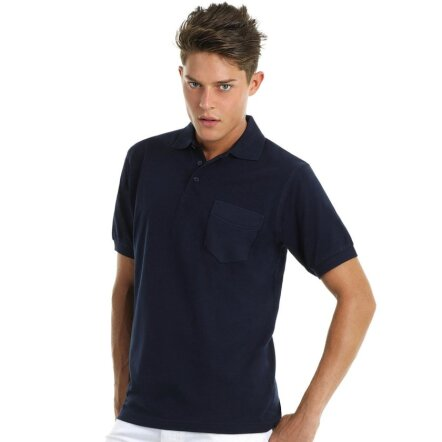 SafraSafran Pocket Polo - PU415n Polo with Pocket