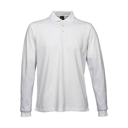 Luxury LS Stretch Polo